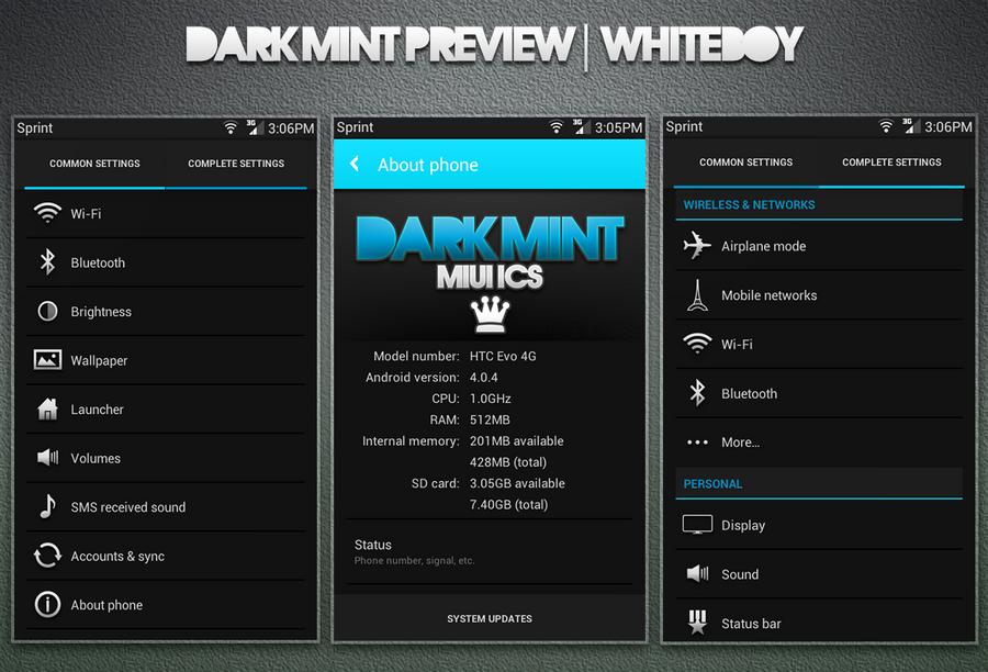 Dark Mint Teaser by Whiteboy997