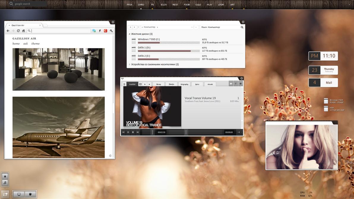 my desktop by Makssa69