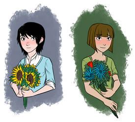 Gunnerkrigg Court - Flowers