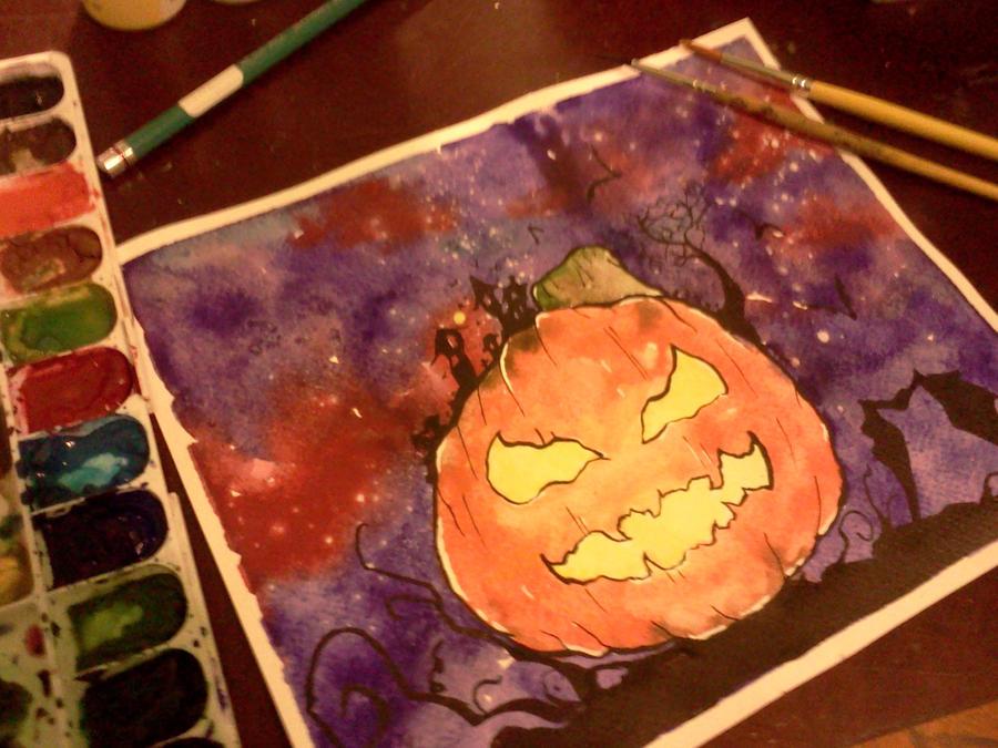 Happy Halloween! by PurpleColorDrop