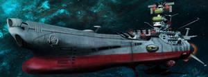 Space Battleship Yamato by Emberspirit