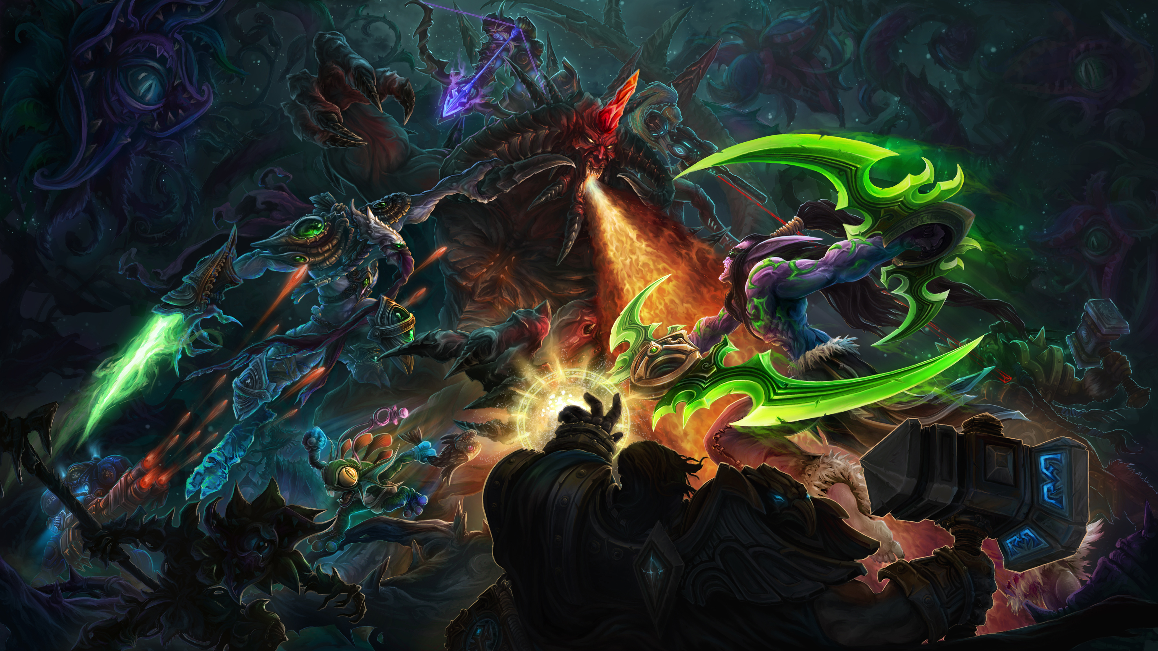 A glimpse of HOTS Epic Universe by IosifChezan