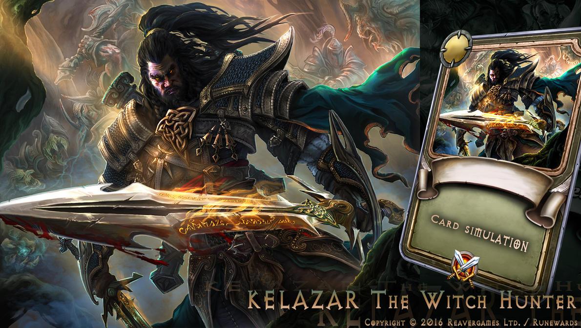 KELAZAR The Witch Hunter by IosifChezan