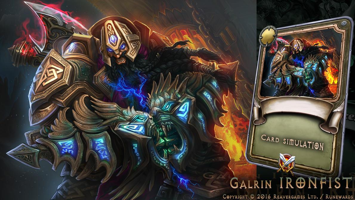Galrin Ironfist by IosifChezan