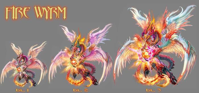 FIRE WYRM -lvl 1 to 3