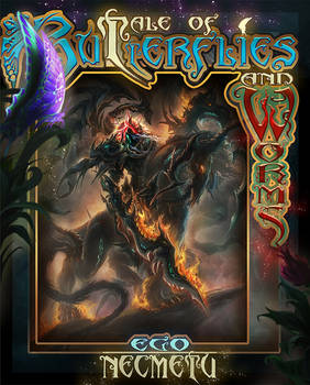 Book Cover - Tale of Butterflyes and Worms