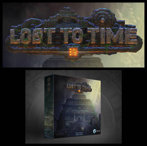 LOST TO TIME Board Game Logo