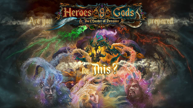 HEROES and GODS - The Master Of Dreams