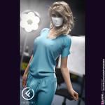 Lisa Quarantine - - Forged3dx