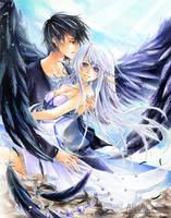 COM: Luna and Yuri by AlleyCreek