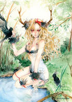 .forest doll.