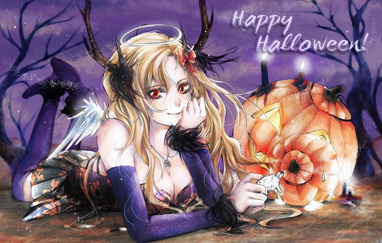 Happy Halloween by AlleyCreek