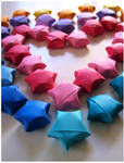 Paper stars by Photogenic5