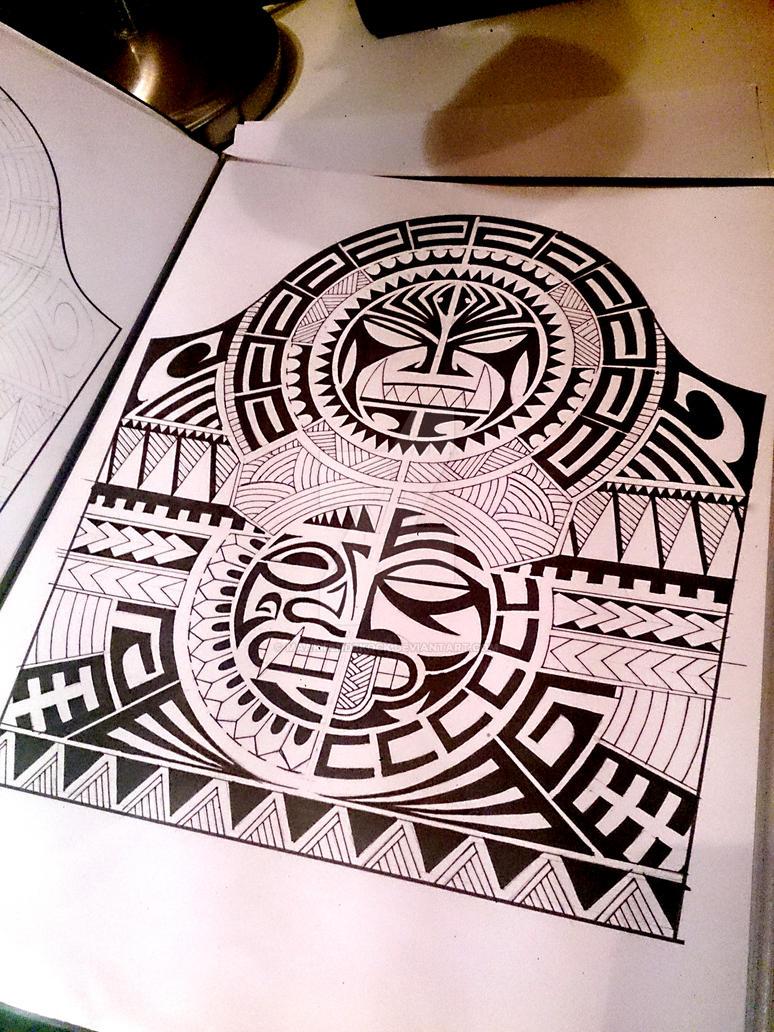 tribal polynesian by maartendekock on deviantart. Black Bedroom Furniture Sets. Home Design Ideas