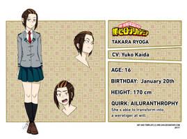 [BNHA OC] | Ryoga Takara| by TheKelpiesFootprint