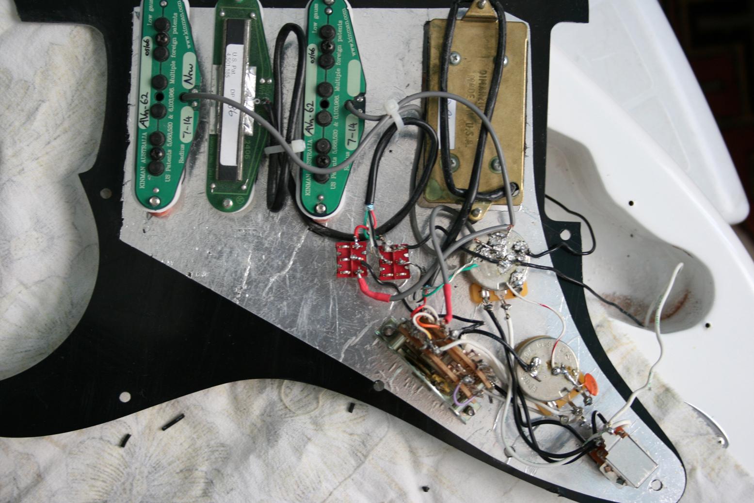 My Guitar Wiring    By Tubescreamer On Deviantart