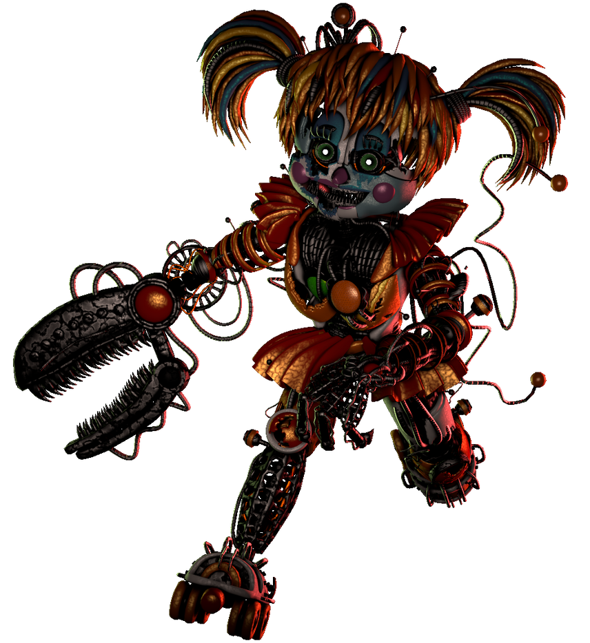 (SFM/FNAF/Collab Entry) Scrap Baby By Fazband83 On DeviantArt