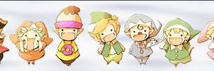 Rocketdock: Jinrui Fairies by milkkybunny