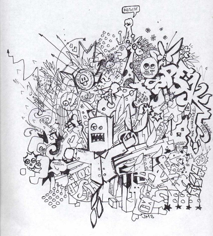 M J Sketch Images random thoughts sketch...