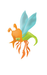 Flying lobsterbug thing by j-m-s