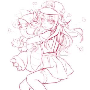 Luigi! Come here quickly!!