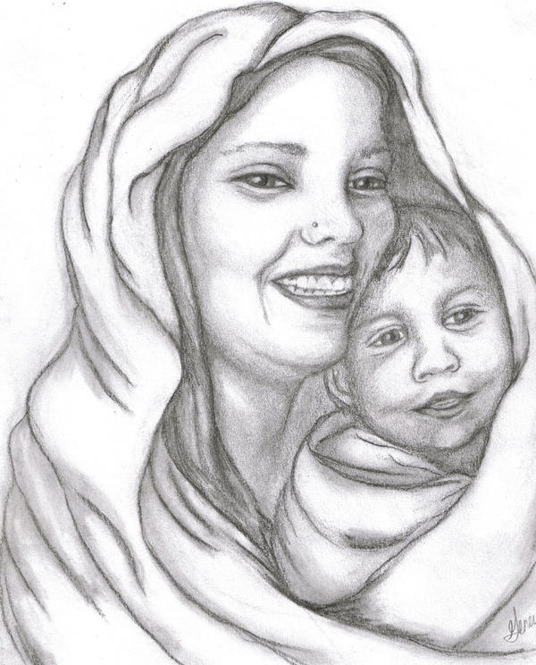 Mother and Child by stormoverwaters on DeviantArt