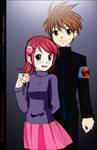 Lan Hikari and Mayl Sakurai COLOR
