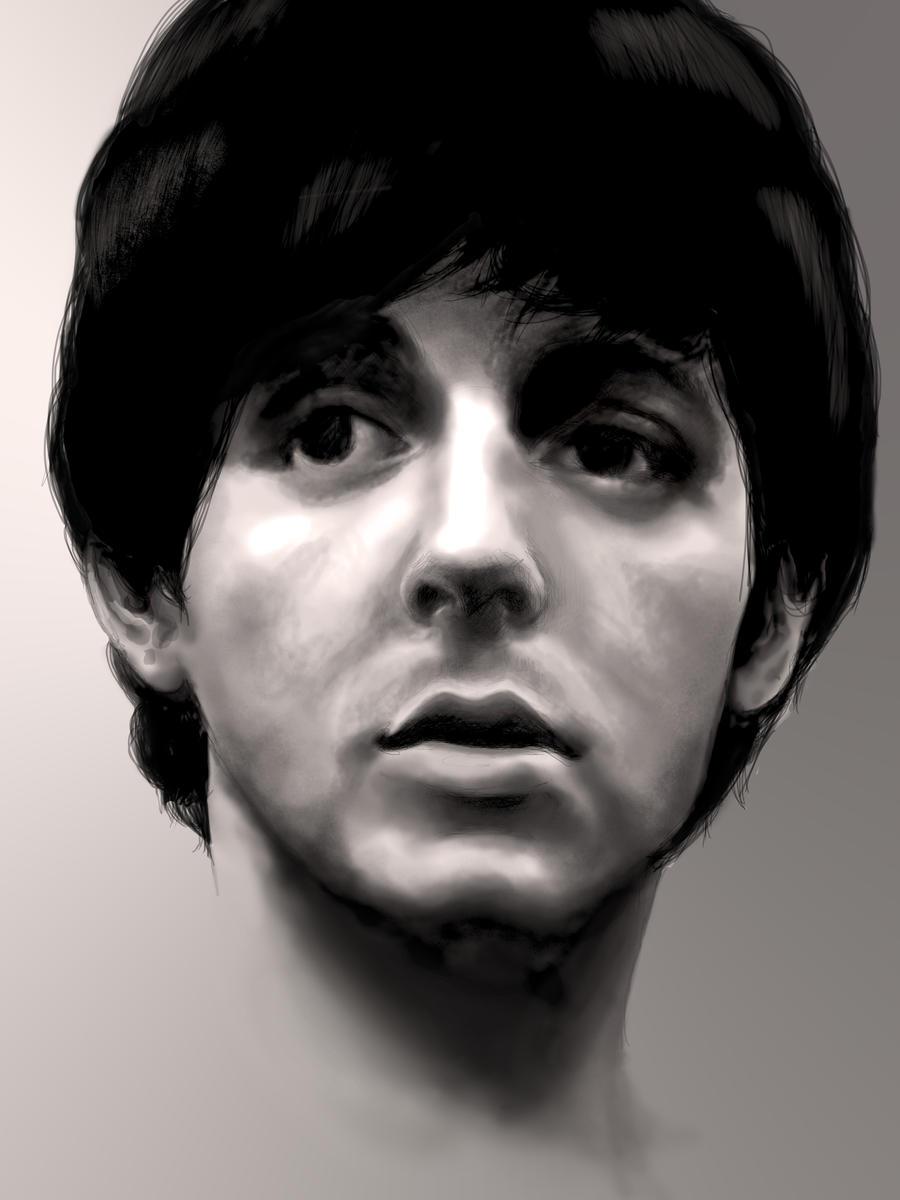 Paul McCartney 1964 By