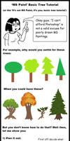 'MS Paint' Tree Tutorial