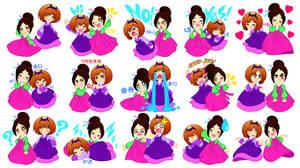 Chibis Hanbok Girls