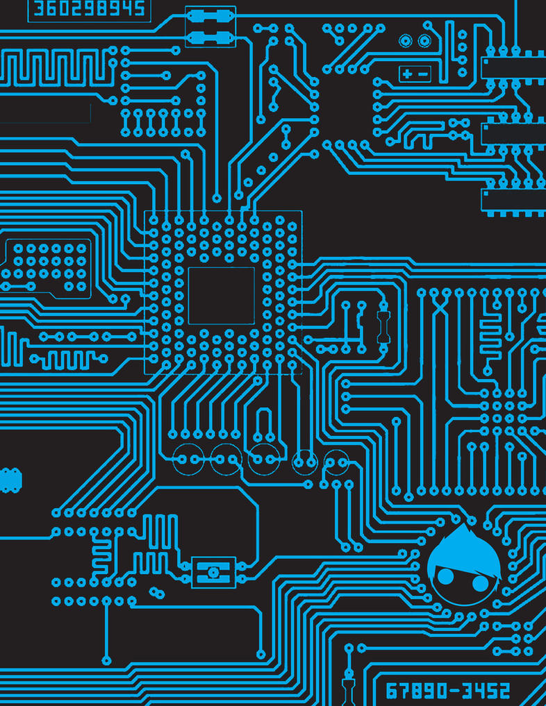 CIRCUIT board by KIDdynasty