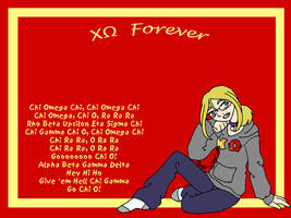 Chi Omega Girl Wallpaper by sweetmorpheus