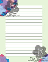 Silly Little Letterhead by sweetmorpheus