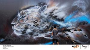 Splatter Ink Cheetah for World Car Drift Series by huatunan