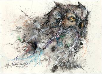 Ink Nightowl by huatunan