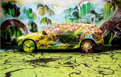 Volvo Art Session 2012 - Hua Tunan by huatunan
