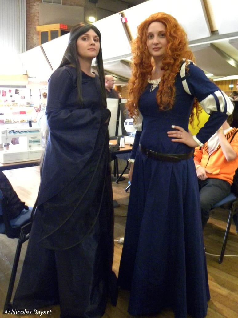 Elinor and Merida by Yuzuriha59