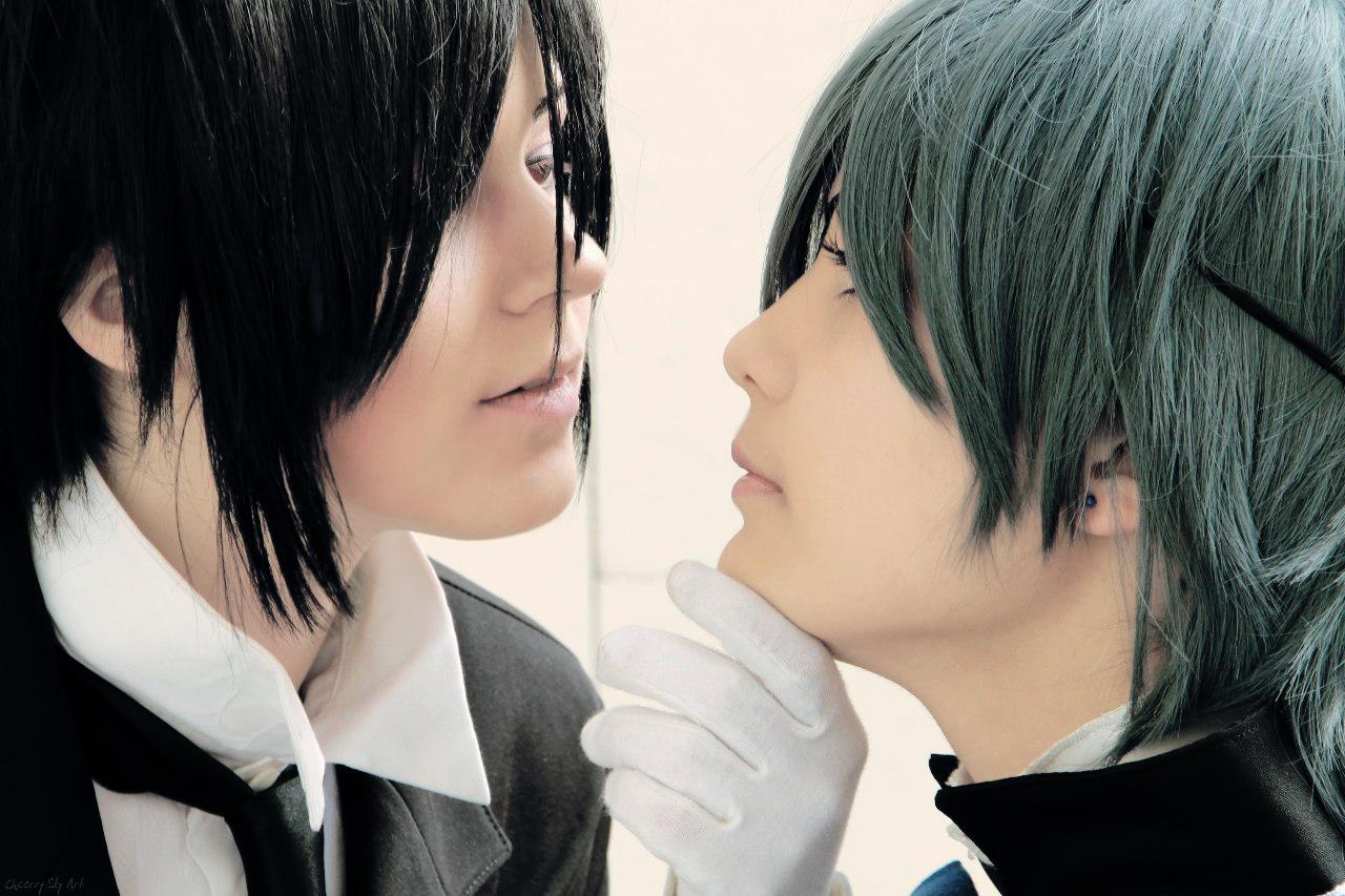 Kuroshitsuji - Sebastian and Ciel by StacyGramm