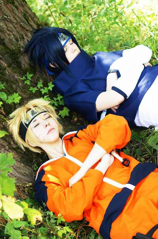 Naruto and Sasuke by StacyGramm