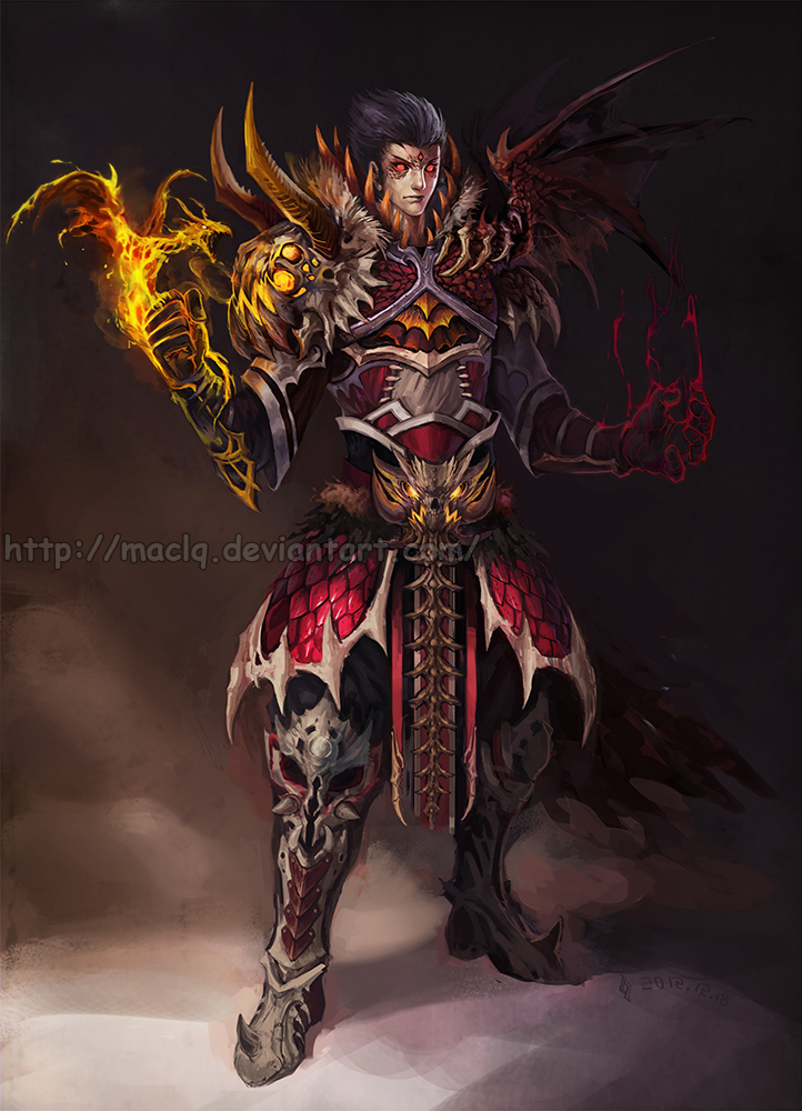 Dragon Summoner by Maclq