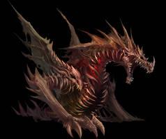Zombie Dragon by Maclq
