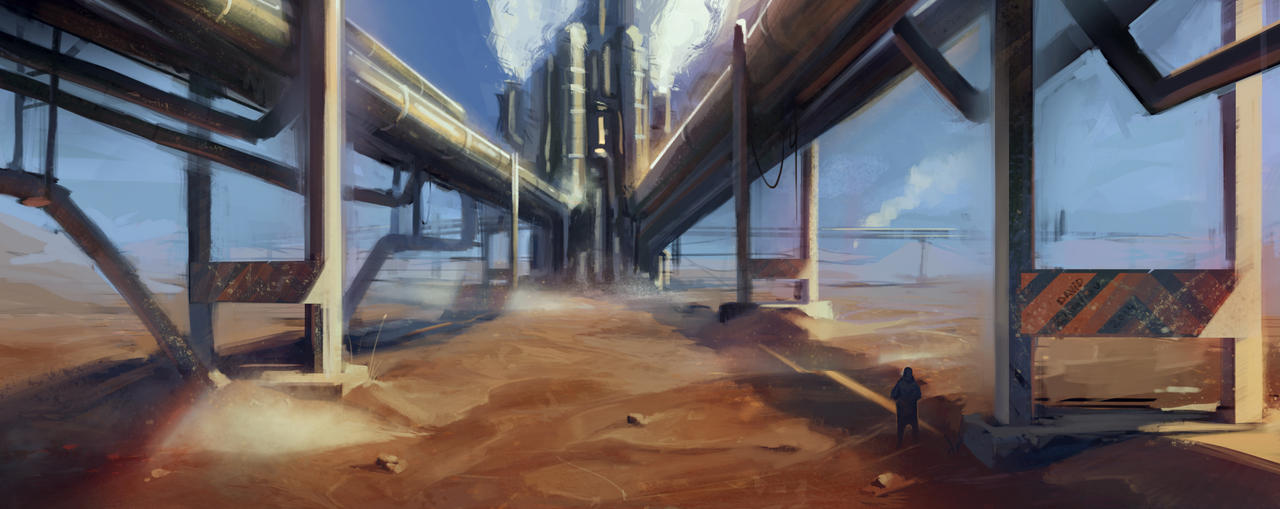 The Wasteland by Deviangread