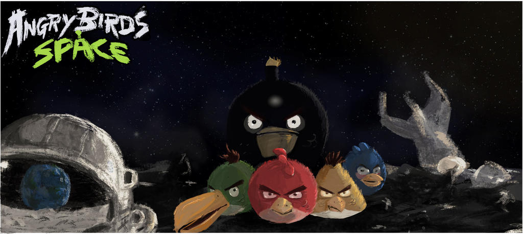 angry birds   space   by mosabali d4qkqei Download Angry Birds Space Wallpaper for PC, iPhone and Mobiles