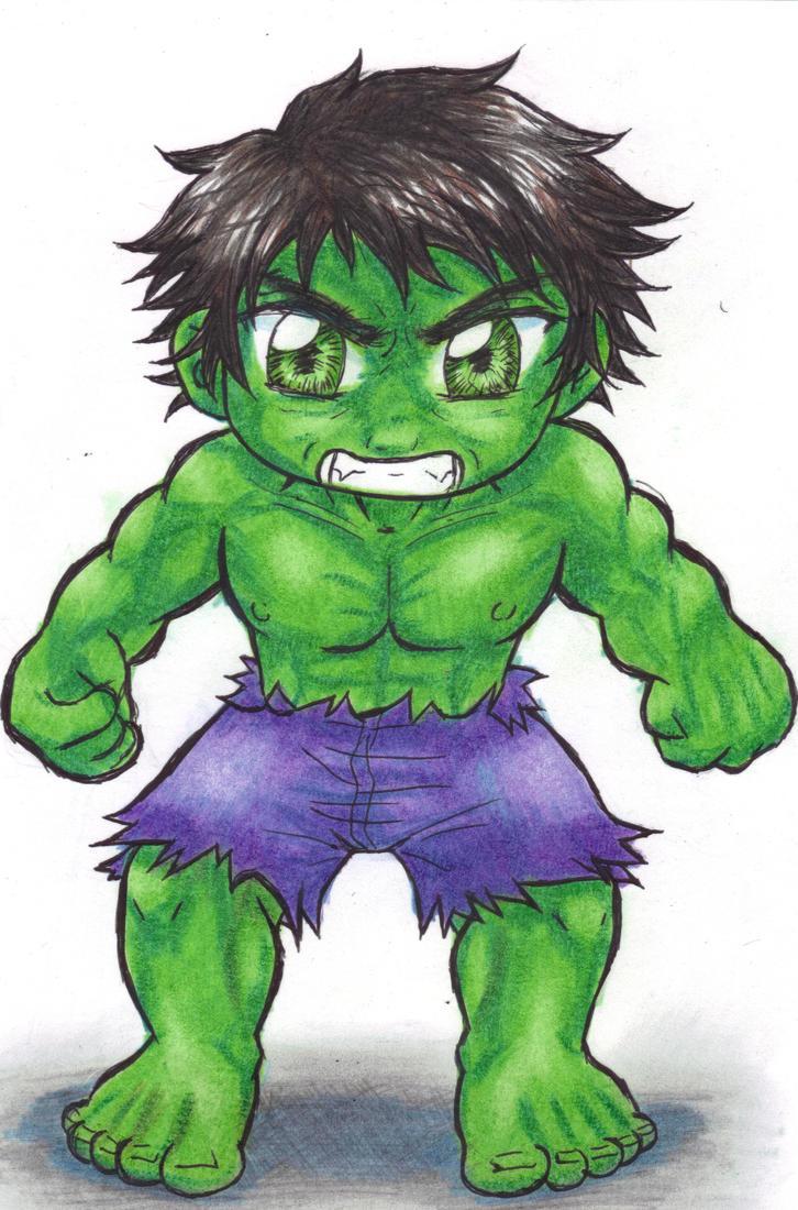 Chibi Hulk Cute Chibi Hulk