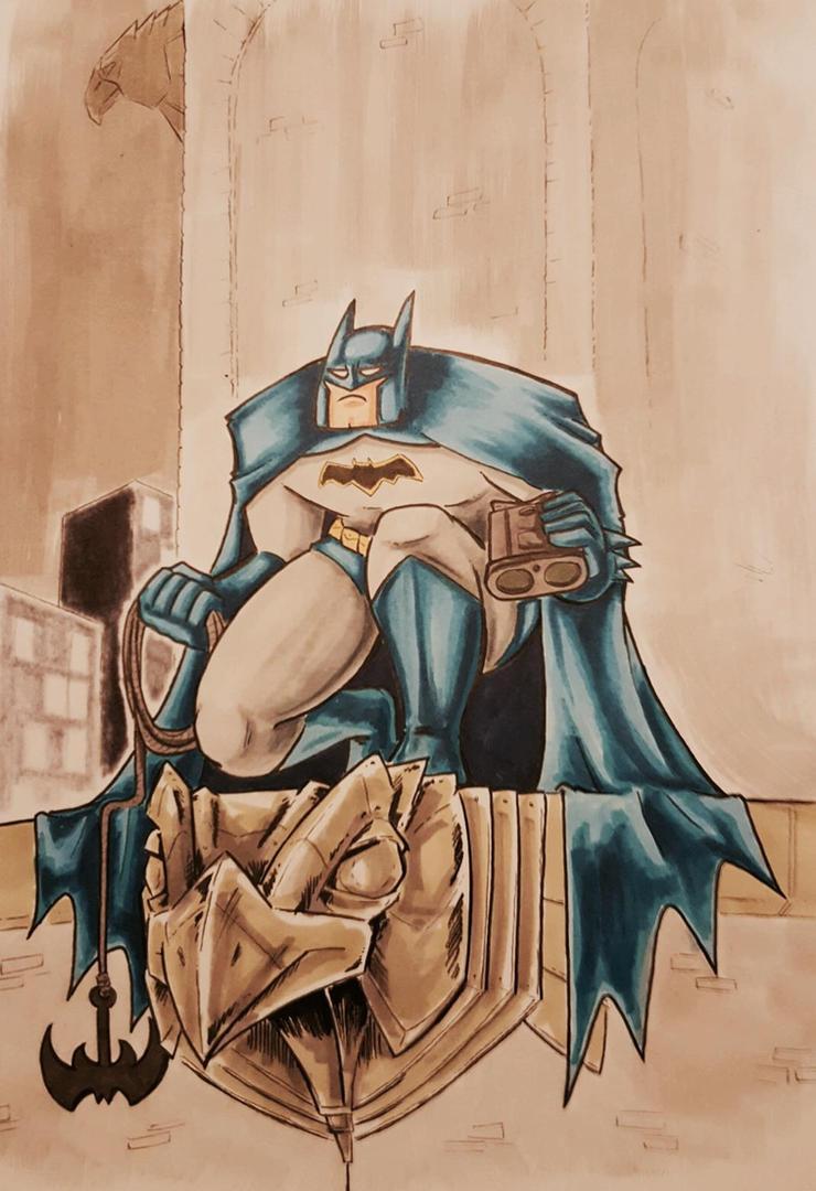 Batman sketch 2016 by Underburbs