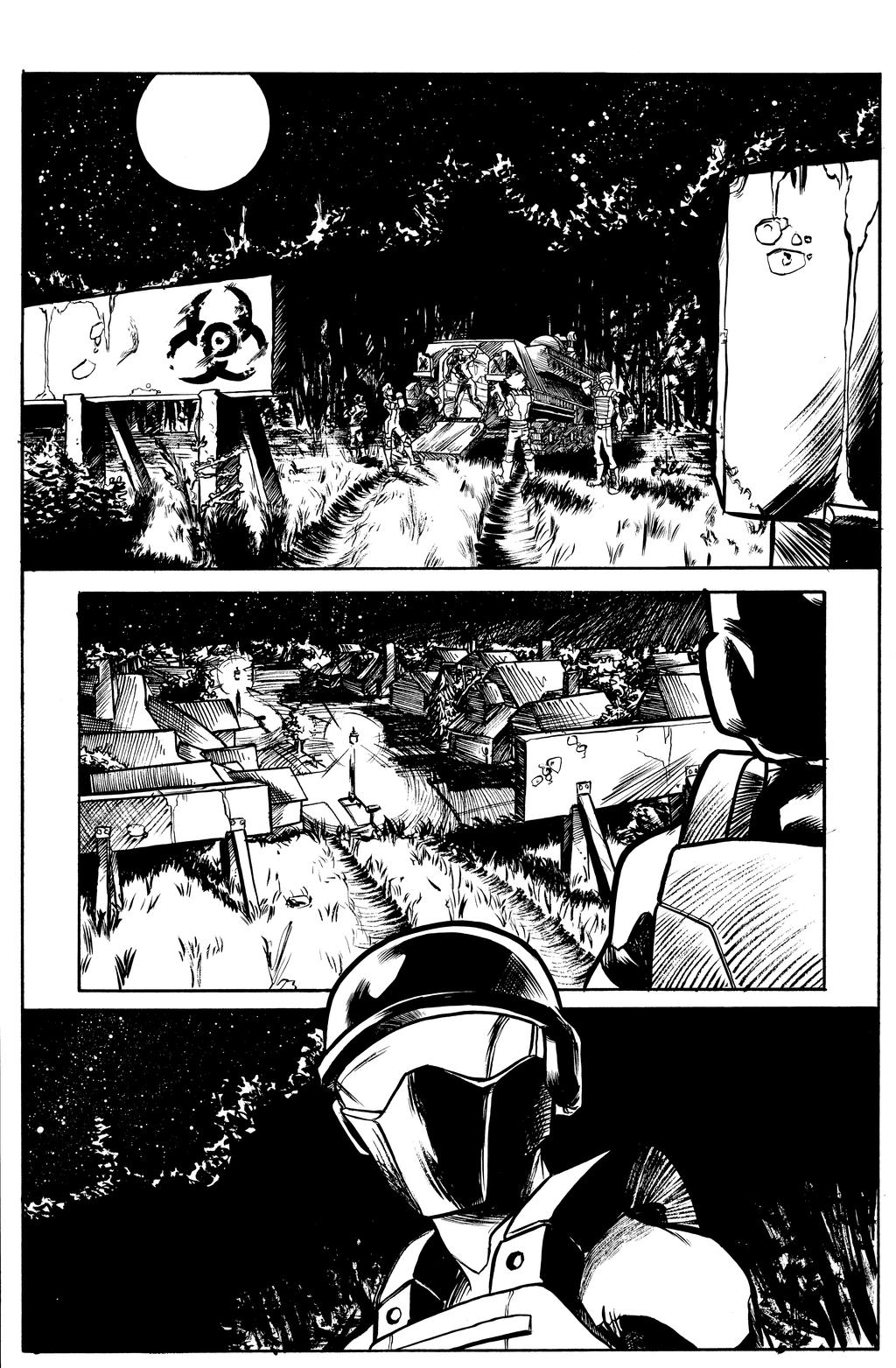 Atlas #1 Page 2 Inks by jciolli