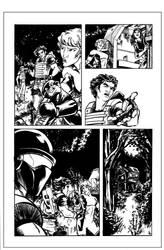 Atlas #1 Page 3 Inks