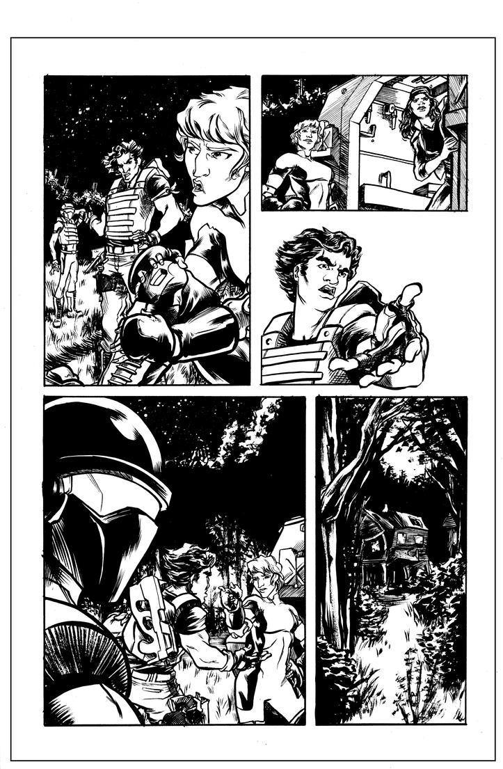 Atlas #1 Page 3 Inks by jciolli