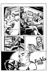 Atlas #1 Page 4 Inks