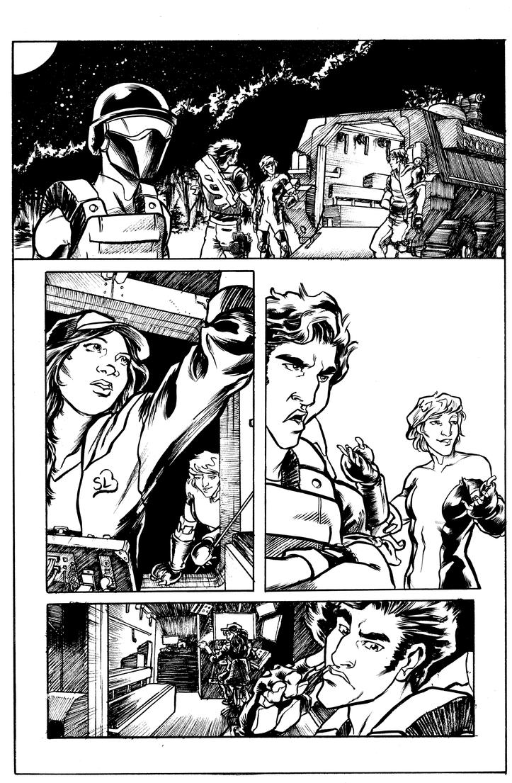 Atlas #1 Page 5 Inks by jciolli